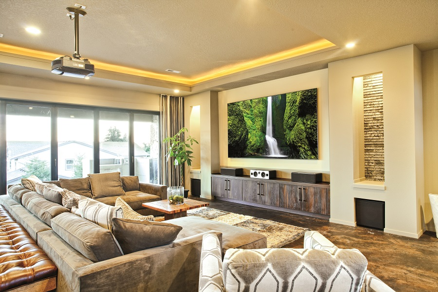 3 Smart Tech Features to Enhance Your Media Room