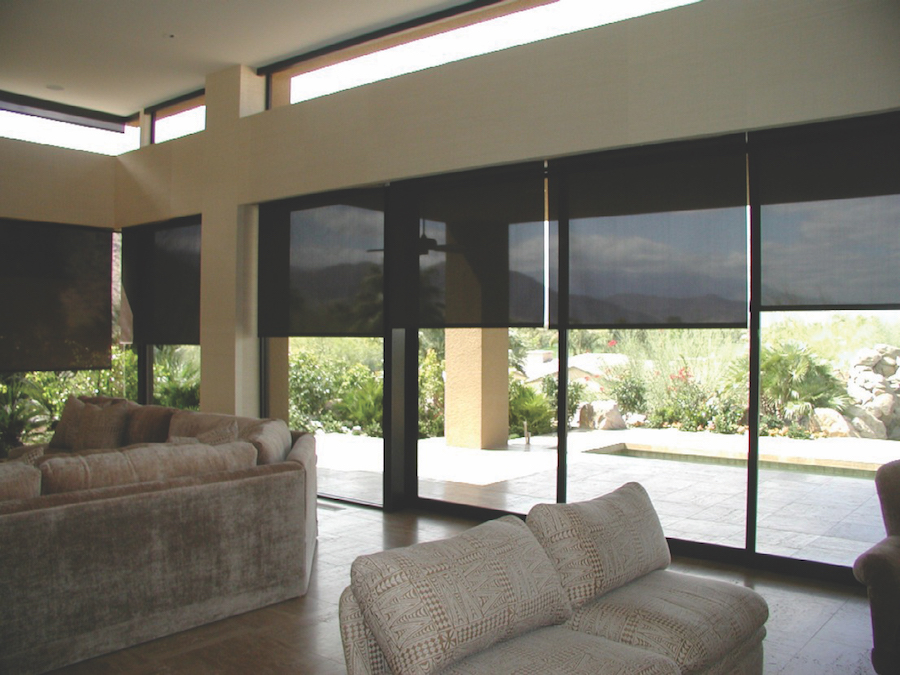 Be a Master of Light with Motorized Window Treatments