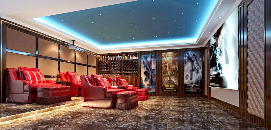 Which Home Entertainment Space Is the Best Fit for Your Family?